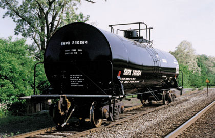 chlorine tank cars available for lease