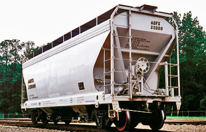 hopper railcars available for lease